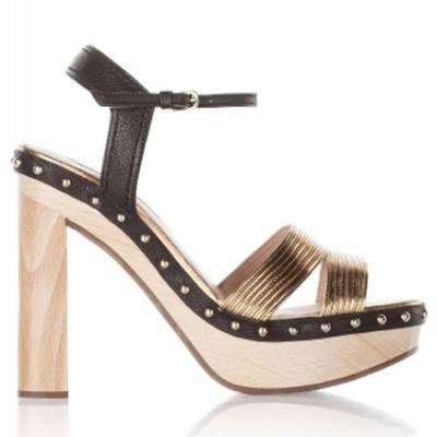 Sandalias con plataforma HALEA de Pura López - Colección 2016