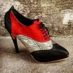 Zapatos abotinados de Elda La Fratta