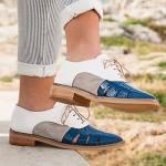 Zapatos tricolor de Belset Menorca