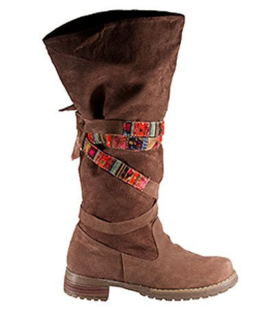 Botas Boti color chocolate de D-Pie
