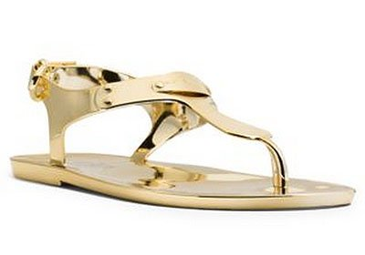Sandalias Metallic Jelly  de Michael Kors