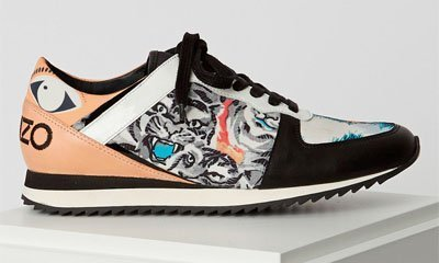 Sneakers Flying Tiger de Kenzo