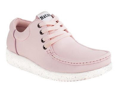 Zapatos ANNA LEATHER BABY PINK de Nature