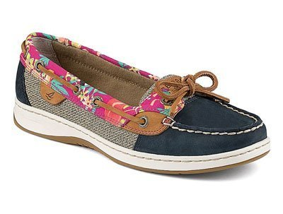 Zapatos Sperry W Angelfish Navy Flamingo de J. Michael