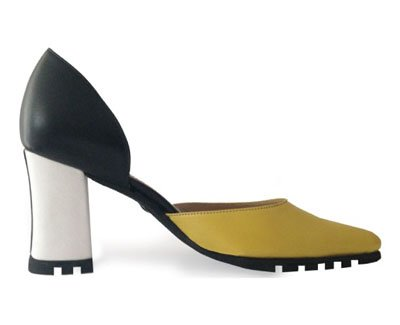 Zapatos GIO YELLOW de Nina Hauzer