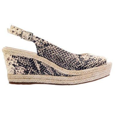 Zapato de cuero animal print de Hush Puppies