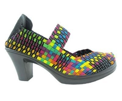 Zapatos Bonnie Black Multi de Bernie Mev
