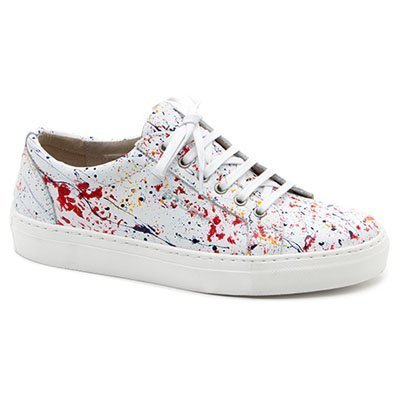 Zapatillas con action painting de Storm