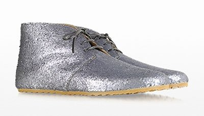 Glitter Lace Up Shoes de MM6 Maison Martin Margiela
