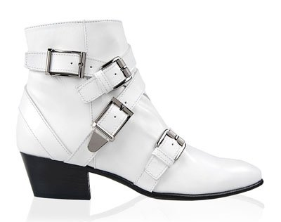 Botines Leather buckled low-boots de Barbara Bui - col 2014