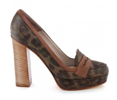 Zapato Brooklin animal print de Carla Danelli