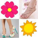 Mis pies bien vestidos en Primavera - Verano